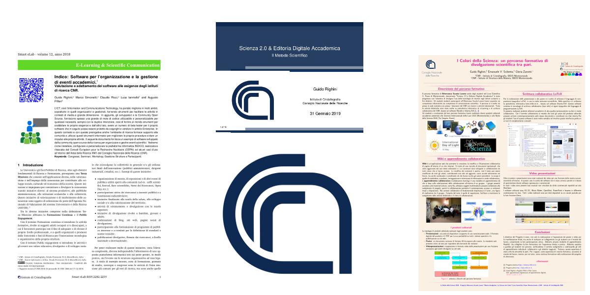 Proposta di Modelli Tipografici LaTeX ottimizzati per prodotti editoriali del CNR